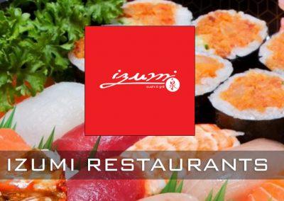 Projectstoffering voor Izumi restaurants