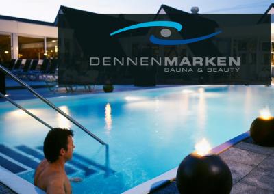 Projectstoffering voor sauna Dennemarken